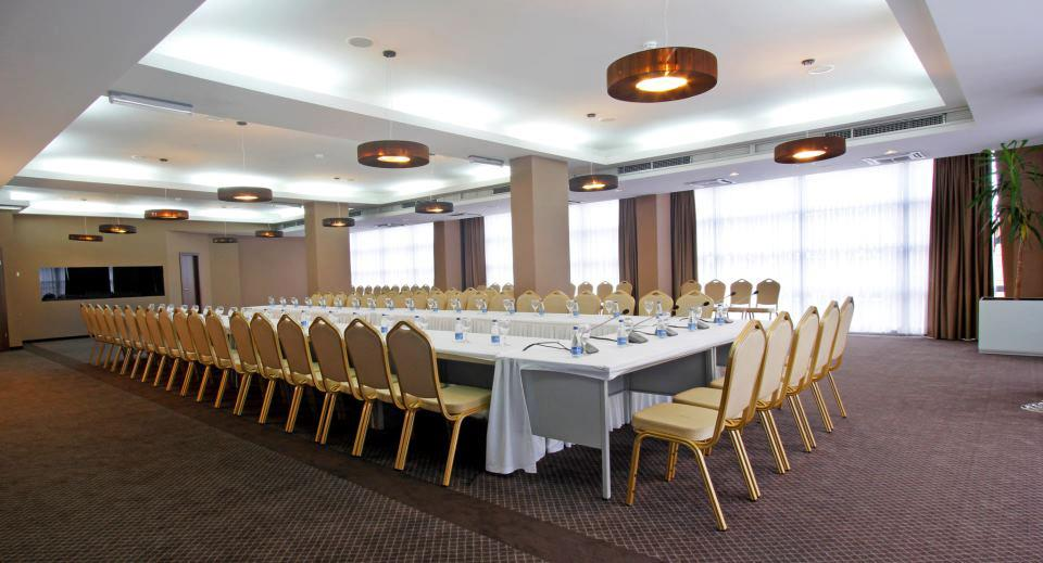 chairs in hotel function room