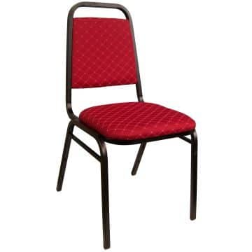 Loughborough Stacking Chair - Red