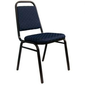 Loughborough Stacking Chair - Blue