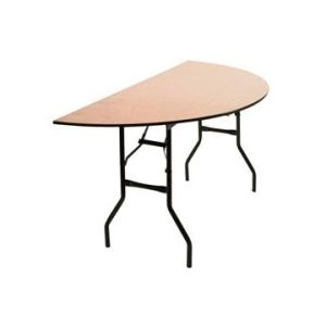 5ft Half Moon Folding Table