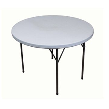 5ft Round Plastic Folding Table