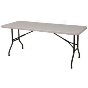6ft Plastic Folding Table - Trestle Table