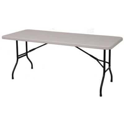 6ft Plastic Folded Table