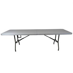 8ft Long Plastic Folding Table