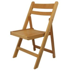Beech Folding Chair