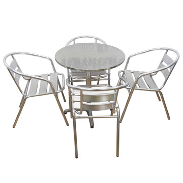 Cafe Chairs with Table