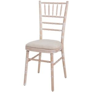 Chiavari Chairs with Limewash Frame
