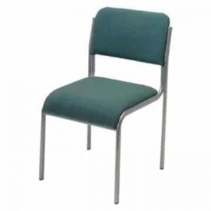 Light Blue Conference Stacking Chair