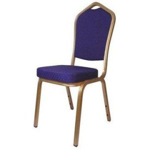 Aluminium Emperor Banqueting Chair Blue