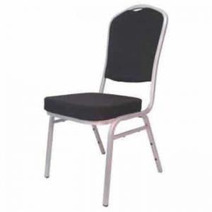 Steel Emperor Banqueting Chair Black