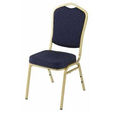 Steel Emperor Banqueting Chair Blue