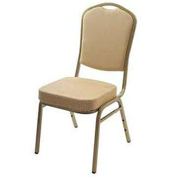 Steel Emperor Banqueting Chair Gold