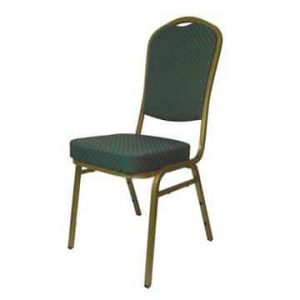 Steel Emperor Banqueting Chair Green