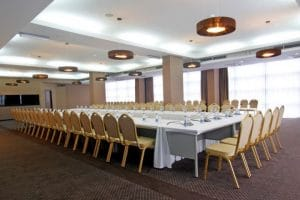 Trestle Tables and Emperor Banquet Chairs