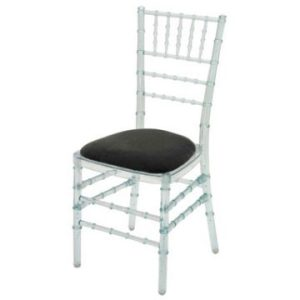 Ice / Resin Chiavari Chairs with Seat Pad
