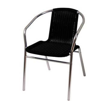 Black Marlo Cafe Chair