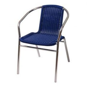 Blue Marlo Cafe Chair