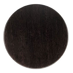 Wenge Werzalit Restaurant Table Top Round 60cm