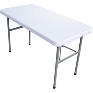 4ft Plastic Folding Table
